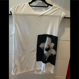 All Saints muscle tee size M